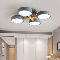 Lustre nórdico para teto de quarto  moderno  simples  para sala de jantar e sala de jantar  personalidade  iluminação de teto