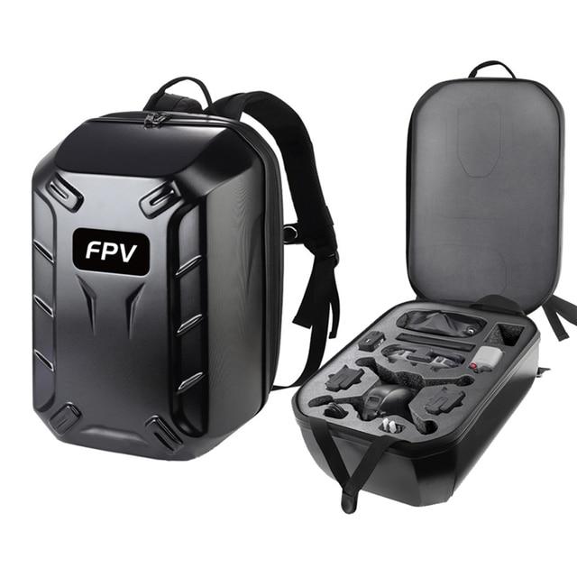 FPV Backpack Shoulder Bag Hard Case Box For DJI FPV Combo Goggles V2 Shockproof Remote Controller Drone Hardshell Storage Bag