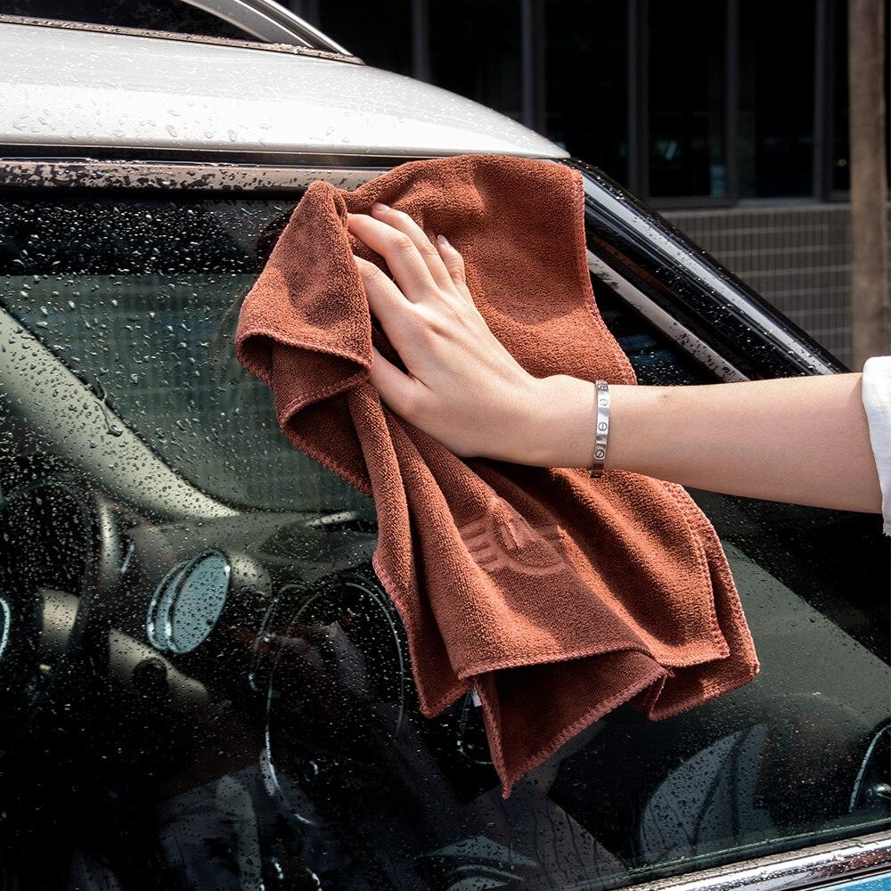 Купить полотенце для мытья автомобиля из супер волокна поглощение воды