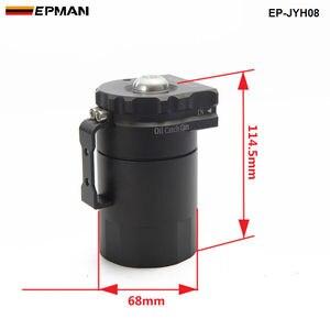 Image 4 - Depósito Universal de aluminio para tanque de aceite + filtro de respiración Color: negro, rojo, azul, dorado, PLATA VERDE, Morado, EP JYH08