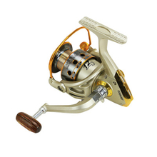 все цены на Spinning Reel 12BB Stainless Steel 1000 7000  Metal Coil Spool Ice Jigging Fishing Reel Spinning Pesca онлайн