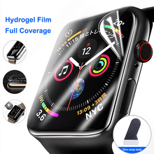 Screen-Protector Apple Watch Not-Tempered-Glass Full-Protective-Film Clear for 4/5/6/Se