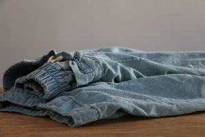 Image 4 - YoYiKamomo デニム女性のパンツ 2018 春夏新作オリジナル弾性ウエストオリジナルジーンズハーレムズボンのファッションパンツ