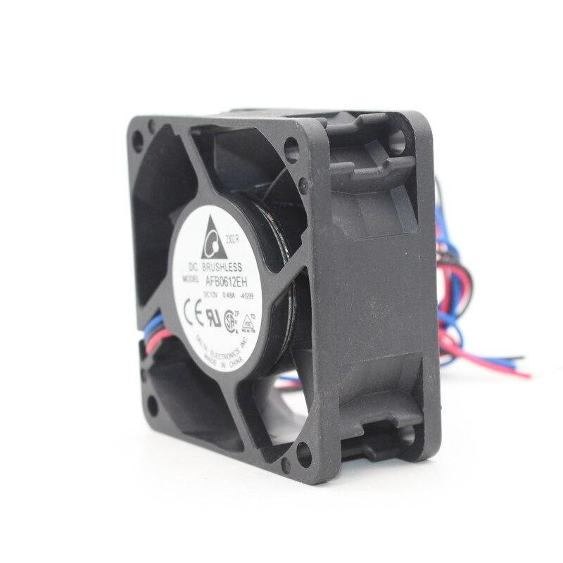 AFB0612EH New Delta 12V 0.48A 6025 Fan 6 Cm 6CM Ball Cooling Fan