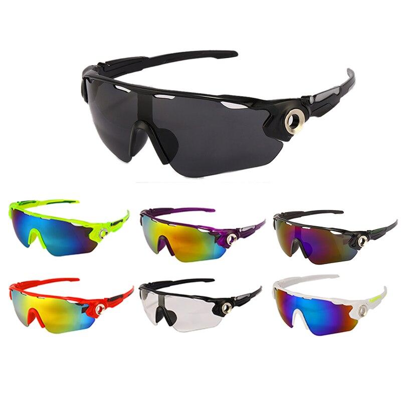 Bersepeda Di Luar Ruangan Kacamata UV400 Pria Wanita Sepeda Kacamata Kacamata MTB Kacamata Hitam Olahraga Memancing Lari Lintas Alam Eyewear Windproof title=