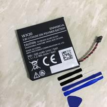 360 1st gen wx30 320mah bateria snn5951a para motorola moto 360 1st gen 2014 relógio inteligente baterias