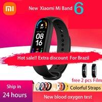 Versione globale Xiaomi Mi Band 6 Smart Bracelet 9 colori 1.56