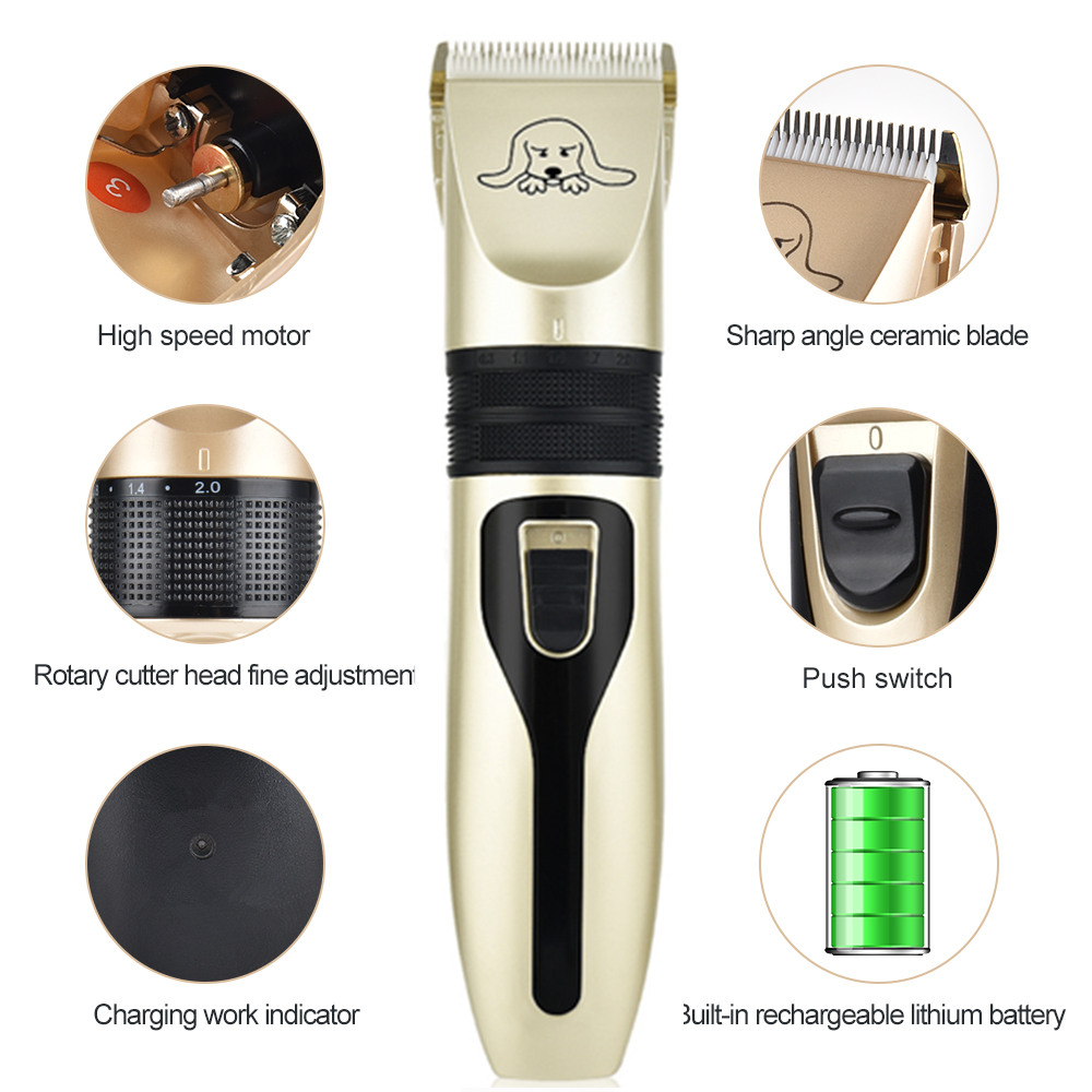 Rechargeable-Pet-Dog-Hair-Trimmer-Animal-Grooming-Clippers-Cat-Cutter-Machine-Shaver-Electric-Scissor-Remover-Haircut (1)_副本
