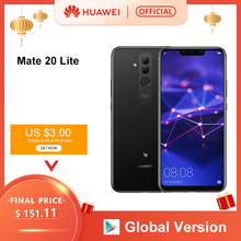 Global Version Huawei Mate 20 Lite 6.3 inch Mobile Phone EU Charger 4G 64G NFC 2