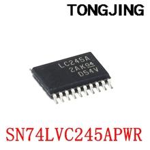 Nowy sitodruk SN74LVC245APWR LC245A TSSOP20 układ nadawczo-odbiorczy magistrali (5 sztuk) tanie i dobre opinie CN (pochodzenie) integrated circuit