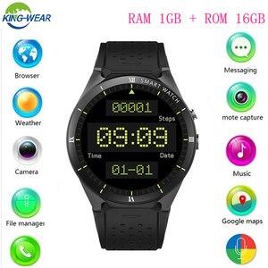 KW88 PRO Smart Watch 1.39 Inch MTK6580 Android 7.0 GPS+WIFI+1gb+16gb Smart Watch 460mAh 2.0 Mega Pixel Heart Rate Monitor watch(China)