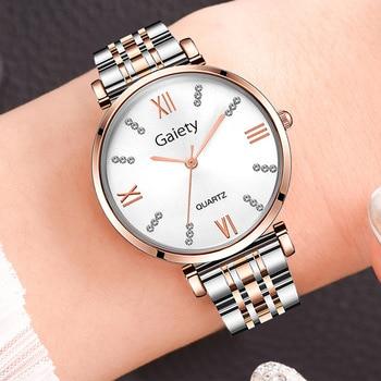 Quartz Watch Ladies Top Brand Luxury Female Wrist Watch Girl 2020 Rose Gold Women Watch Reloj Mujer Clock Relogio Feminino