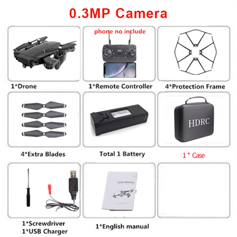 H13 RC Drone 4K HD Camera Professional Aerial Quadcopter  Children's Toy  WiFi FPV Real-Time Transmission