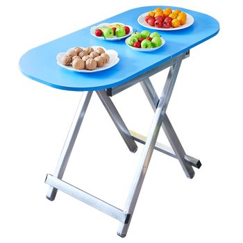 Folding Table, Simple Dining Table, Portable Outdoor Placing Table, Simple Learning Table, Portable Function Computer Table