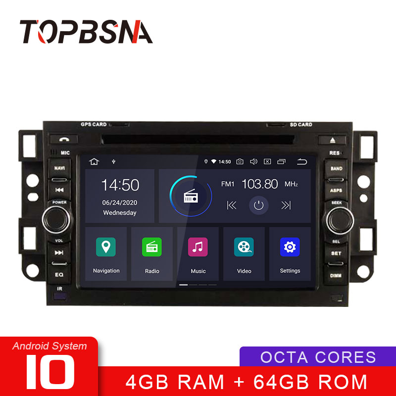 TOPBSNA Android 10 <font><b>Car</b></font> DVD Player <font><b>For</b></font> <font><b>Chevrolet</b></font> <font><b>Aveo</b></font> Epica Captiva Spark Optra Tosca Kalos Matiz GPS Stereo <font><b>2</b></font> <font><b>Din</b></font> <font><b>Car</b></font> <font><b>Radio</b></font> Auto image