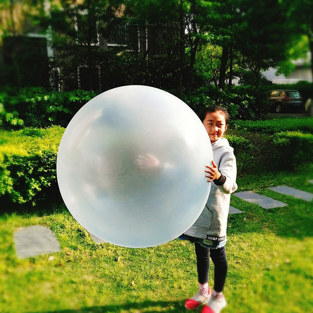 Bubble Balloon Inflatable Boy Toy Ball Amazing Tear-Resistant Super Good Gift Inflatable Balls For Outdoor Play Random Color