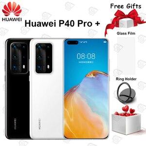 Оригинальный Huawei P40 Pro + Plus 5G мобильный телефон 6,58 дюймов Kirin 990 8 Гб 256 ГБ 100x SuperZoom массив Android 10 IP68 NFC Смартфон