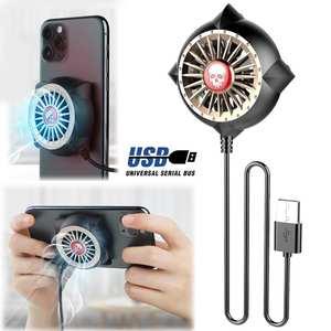 Portable Fan Radiator Phone-Cooler Cooling-Heat-Sink Mobile-Phone Huawei Gaming Universal