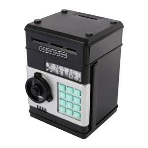 Image 4 - Electronic Piggy Bank for Paper Money ATM Password Money Box Cash Coins Saving Box Mini Safe Box Automatic Deposit Kids Moneybox