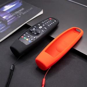 Image 1 - SIKAI Custodia In Silicone Per LG Smart AN MR600 Coperchio del Telecomando Per LG UN MR650 Per LG OLED TV Magico Telecomando AN MR18BA 19BA 20GA