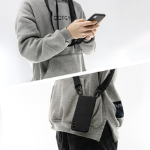 Liquid Silicone Necklace Cell Phone Case With Lanyard Shoulder Neck Strap Rope Cord for iphone 11 Pro XS MAX XR 6 7 8 Plus Cover mbr cell power neck