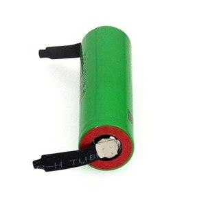 Image 3 - VariCore batería recargable de alto drenaje 30A, 100% Original, 3,6 V, 18650 VTC4, 2100mAh, VC18650VTC4 + hoja de níquel de DIY
