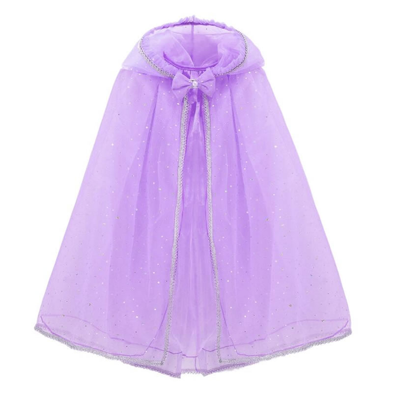 meninas com capuz capa de tule criancas 04