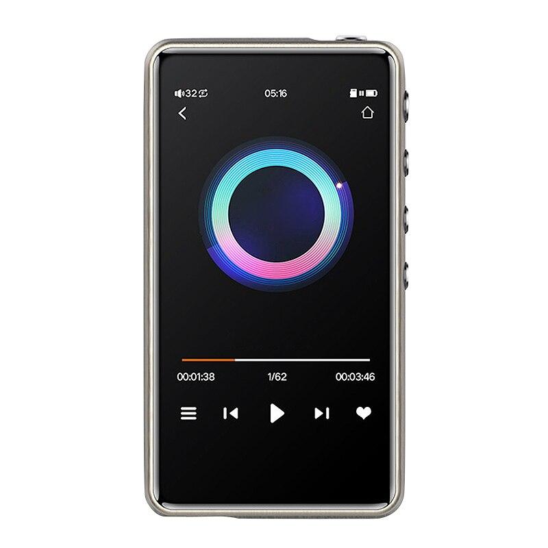 Lecteur de musique Bluetooth Mp3 | 1700MAH, 3.0 pouces, lecteur de musique HiFi intelligent DSD Master, Mini baladeur