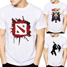 Men Dota 2 T Shirt Moba Game Printed Summer Clothi