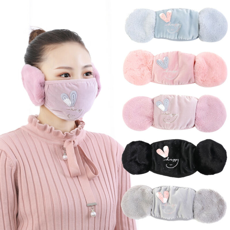 Newest Arrival Ear Protective Mouth Mask Windproof Mouth-muffle Anti Dust Winter Masks Children Anti Haze Flu Cotton Face Masks