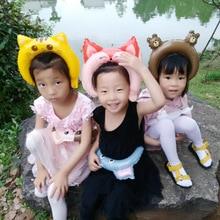 Children head hoop aluminium film balloon school kindergarten activity hair decoration cartoon animals