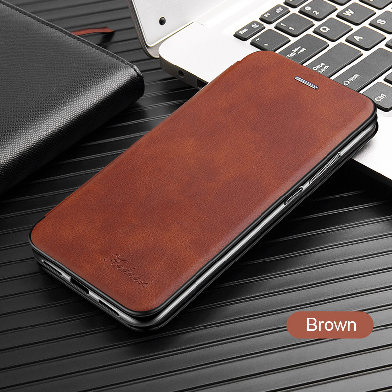 Leather Flip Magnetic Case For Xiaomi Redmi note 8t 8a 9 8 pro 9s 7 7a 5 plus a2 20
