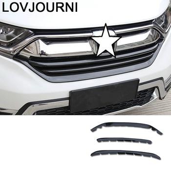 Grille Handle Door Exterior Auto Automovil Decorative Bright Sequins Decoration Covers Parts Protecter 17 18 19 FOR Honda CRV