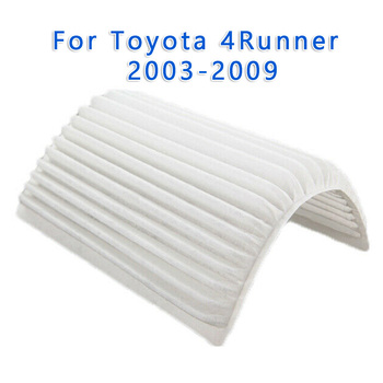 1pc Air Filter Cabin Car For Toyota For 4Runner 2003-2009 White Accessories image