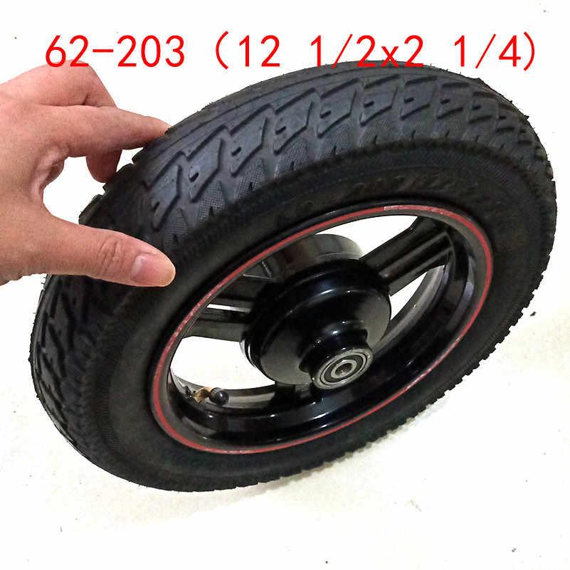 4 X Pneus De Espuma sólido Carrinho Scooter Buggy Carrinho Pneu De Bicicleta 12-1//2 X 2-1//4