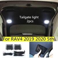 トヨタRAV4 2019 2020 5th led車のテールライトトランクライトテールゲートランプスーツケースライト