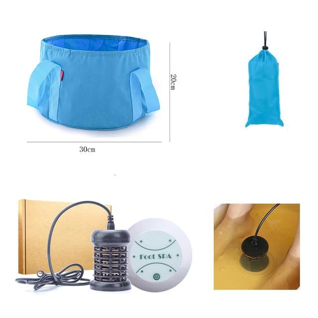 Foot Massage Detox Machine Foot Spa Ion Cleanse Foot Massage Ionic Aqua Cell Spa Machine Detox Foot Bath Arrays Aqua Spa Fitness 9752d19ba6c8b52b86a5fd: 110V 220V