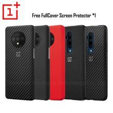 OnePlus 7 Pro แท้ 100% จาก OnePlus ป้องกันอย่างเป็นทางการ NYLON กันชนหินทรายกรณี ONE PLUS 7 OnePlus 7T