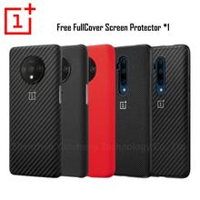 Oneplus 7 Pro Case Original 100% from Oneplus Official Protective Cover Nylon bumper Sandstone Case one plus 7 Oneplus 7T