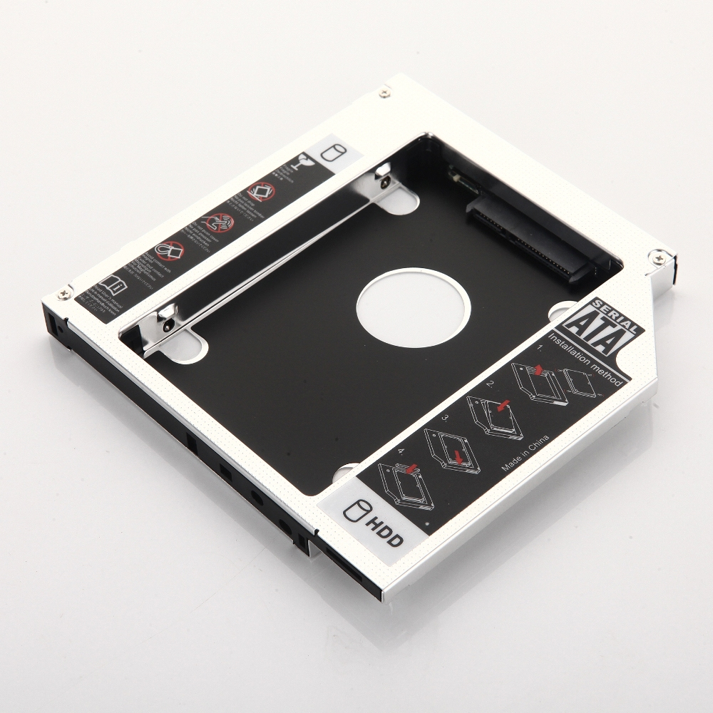 Bezel 2nd HDD SSD Hard Drive Caddy for Dell Inspiron 3467 3567 3568 3562 3565