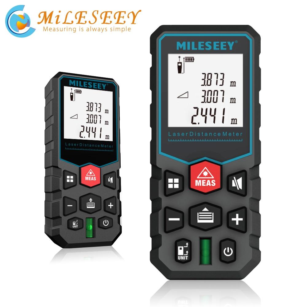 Mileseey X5 лазерный дальномер medidor laser profesional metro trena a laser laser range finder medidor de distância a laser