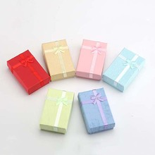 6Pcs Romantic Jewelry Gift Box Pendant Case Display For Earring Necklace Ring Watch Beauty Jewelry Gift Box Holder