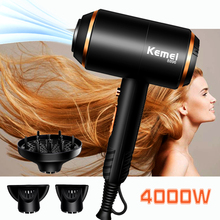 Strong Wind Power Electric Hair Dryer  Overheat Protection System New Hair Drying Machine No Injury Water Ions Hair Blower D43