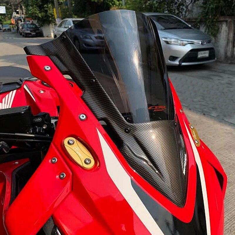 Mtkracing para cbr650r 2018, 2019 de 2020 accesorios da motocicleta tela parabrisas carenagem parabrisas