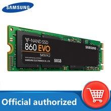 Samsung ssd 860 evo m.2 2280 sata 1tb 500gb 250gb disco rígido de estado sólido interno hdd m2 computador portátil desktop tlc pcle m.2