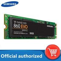 SAMSUNG-disco duro interno de estado sólido, unidad SSD 860 EVO M.2 2280 SATA 2TB 1TB 500GB 250GB HDD M2, PC de escritorio, TLC PCLe M.2