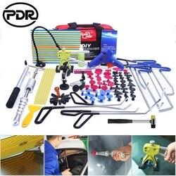 Pdr paintless dent repair tool conjunto de ferramentas de reparo de remoção de dente de carro kit de ferramentas de reparo de aço inoxidável