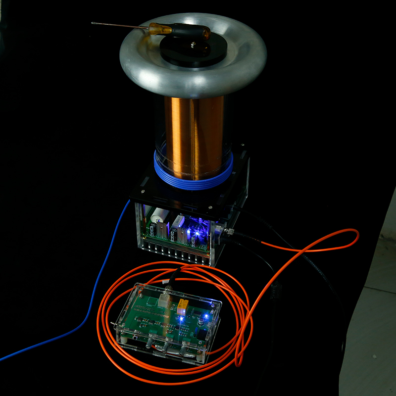 Solid-state Tesla Coil Music Sound Physical Toy Diy Jammer Drsstc Lightning Simulation Experiment Can Be Customized