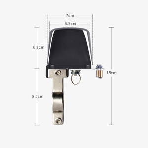"Image 3 - Wifi Gas Pijpleiding Automatische Manipulator Valve Ball 1/2 ""3/4"" DN15 DN20 Valve Voor Gas/Water Uitschakeling Cut off Vlinderklep 12V"
