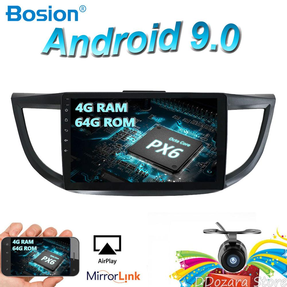 Flash Deal 2din Android 9.0 Car Multimedia Player For HONDA CRV 2012 2013 2014-2016 GPS Navigation Wifi Bluetooth Camera 4G RAM 64G ROM 0